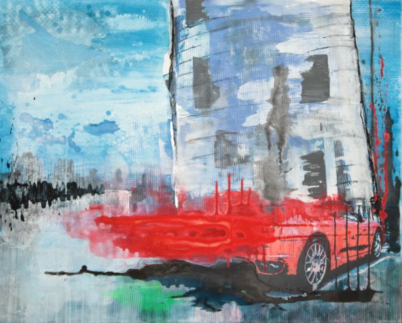 Red Dream (120 x 100 cm)