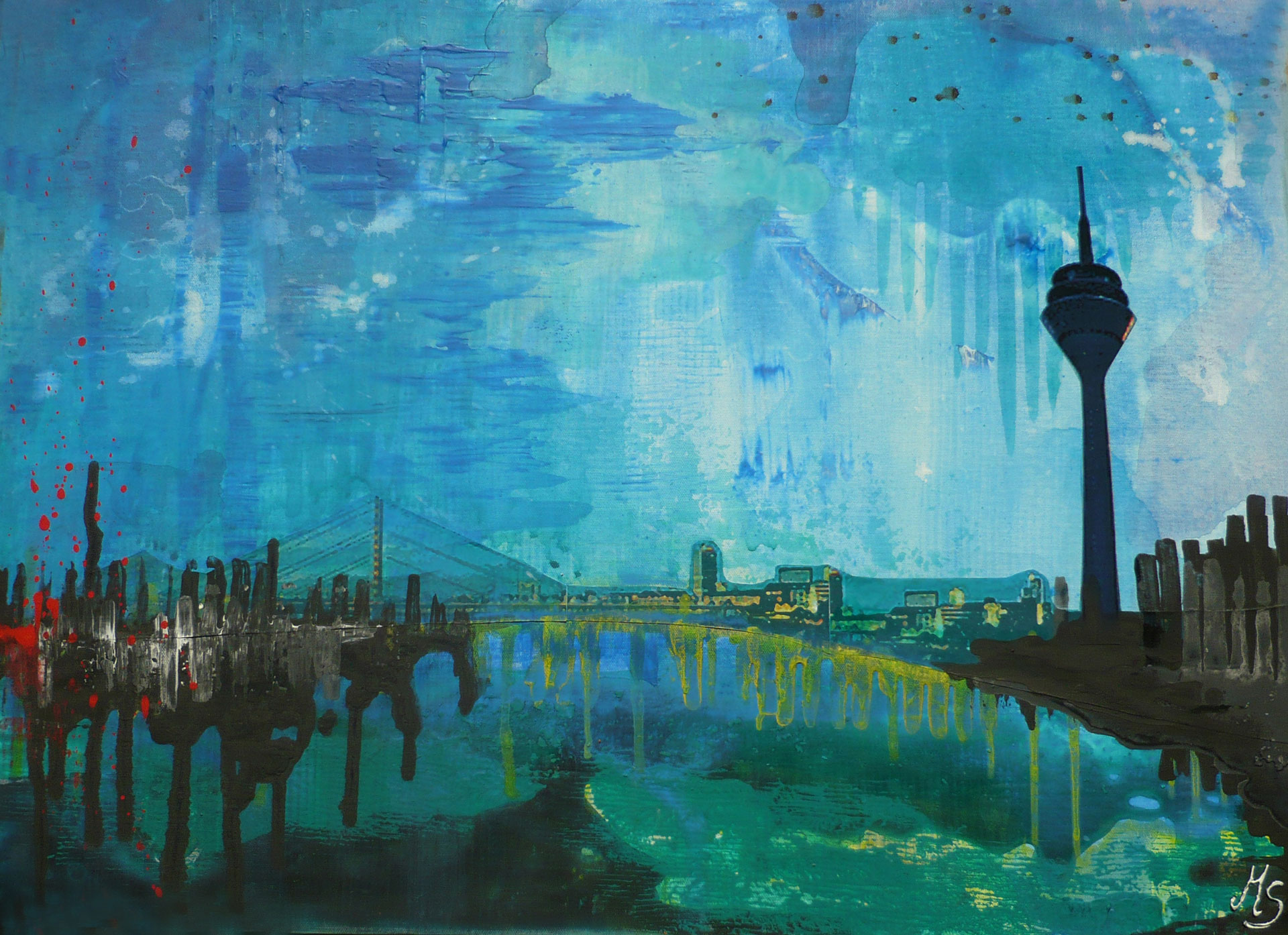 Düsseldorf (Serie, 80 x 60 cm)