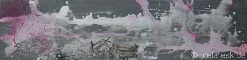 Graffiti (Serie, 120 x 30 cm)